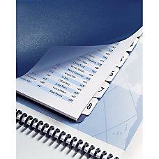 GBC Customizable Index Tabs 5 Tab