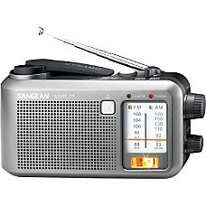 Sangean MMR 77 Emergency Radio Tuner