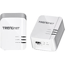 TRENDnet TPL 420E Powerline Network Adapter