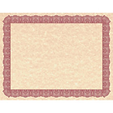Geographics Braided Border Blank Certificates 850