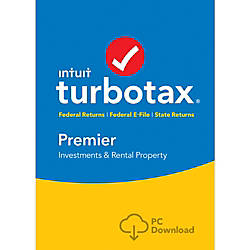 TurboTax Premier Federal State 2016 For