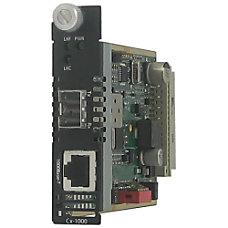 Perle CM 1000 SFP Gigabit Ethernet