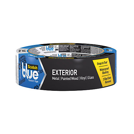 Scotchblue Exterior Painters Tape 3 Core X 45 Yd Blue By Office Depot Officemax