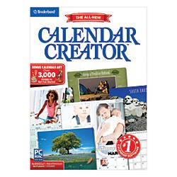 Encore Calendar Creator Deluxe 13 For