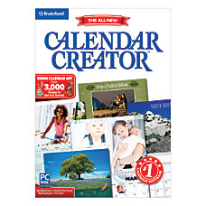 Encore Calendar Creator Deluxe 13 For