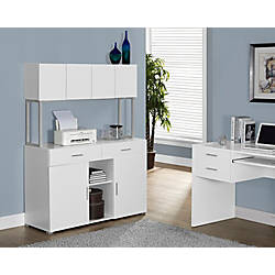 Monarch Specialties Office Cabinet Credenza White