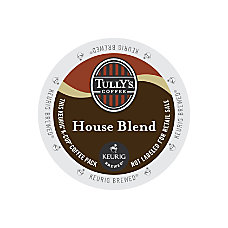 Tullys Coffee House Blend Coffee K
