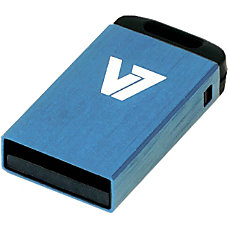 V7 8GB Blue Nano USB Flash