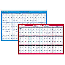AT A GLANCE Yearly Erasable Reversible