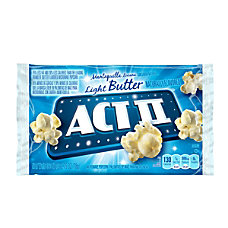 ACT II Microwave Popcorn Butter Flavored