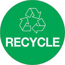 Tape Logic Recycle Circle Labels 3