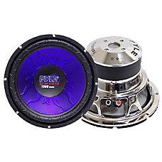 Pyle PL1290BL Woofer 1200 W PMPO