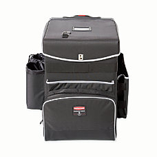 Rubbermaid Executive Quick Cart Medium Dark