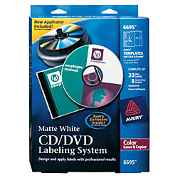 Avery color laser cddvd design kit with labels and inserts for Avery dvd case template