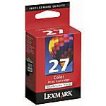 Lexmark 27 10N0227 Color Ink Cartridge