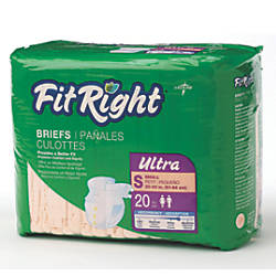 FitRight Ultra Briefs Small 20 33