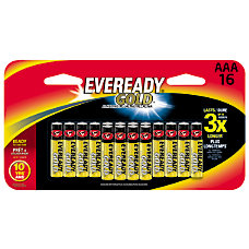 Eveready AAA Alkaline Batteries Pack Of