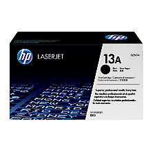 HP 13A Black Original Toner Cartridge