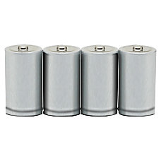 SKILCRAFT Alkaline D Batteries Pack Of
