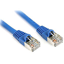 StarTechcom 3 ft Cat5e Blue Snagless