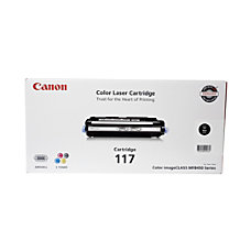 Canon 117 Black Toner Cartridge 2578B001AA
