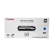 Canon 117 Cyan Toner Cartridge 2577B001AA