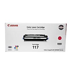 Canon 117 Magenta Toner Cartridge 2576B001AA