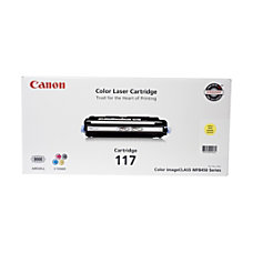 Canon 117 Yellow Toner Cartridge 2575B001AA