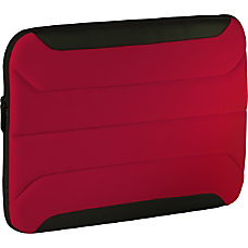 Targus 102 Zamba Netbook Sleeve Red