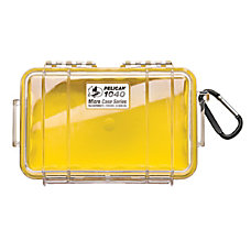 Pelican 1040 Micro Case with Yellow