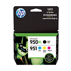 HP 950XL951 BlackColor Original Ink Cartridges