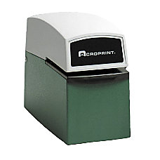 Acroprint Heavy Duty Electric Time Stamp