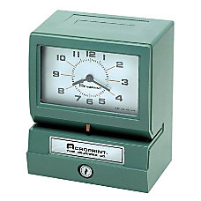 Acroprint 150 Electric Time Recorder DayHourMinute