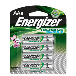 Energizer Rechargeable NiMH AA Batteries Pack