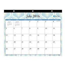 Blue Sky Monthly Tablet Calendar 11