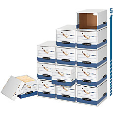 Bankers Box FileCube Presto 60percent Recycled
