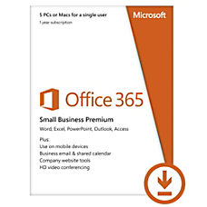 Microsoft Office 365 Small Business Prem
