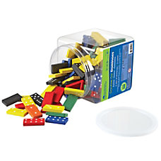 Learning Resources Double Six Color Dominoes