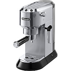 DeLonghi Dedica Pump Espresso Machine Stainless