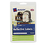 Avery Permanent Self Adhesive Reflective Stickers