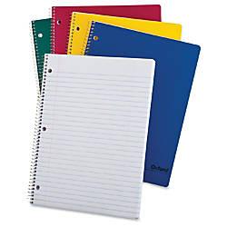 TOPS Oxford Bright Primary Color Wirebound