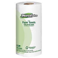 Marcal Sunrise 100percent Recycled Roll Towels