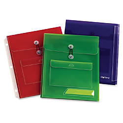 Oxford Poly Pocket Binder Envelopes 150