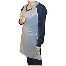 Genuine Joe 50 Disposable Poly Apron