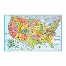 Rand McNally M Series Wall Map