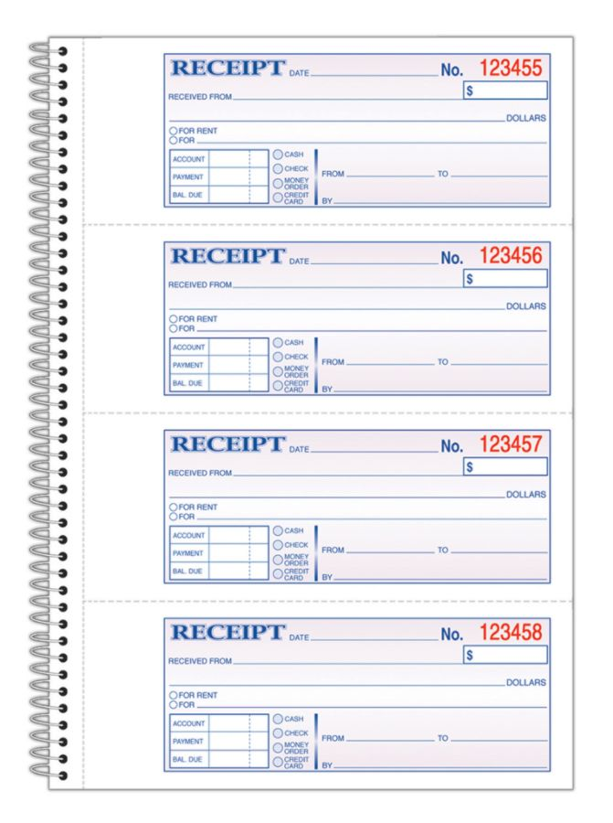 Receipts at Office Depot OfficeMax – Where Can I Buy Rent Receipts