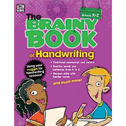 Thinking Kids Brainy Book Of Handwriting