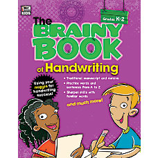 Thinking Kids Brainy Book Of Handwriting