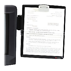 3M Monitor Mount Document Holder Black