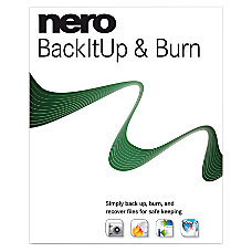 Nero Backitup Burn Traditional Disc